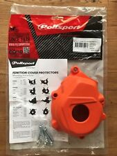 IGNITION COVER PROTECTOR GUARD FITS KTM SXF 250  SXF 350  2016-2018 ORANGE