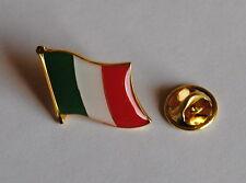 PINS PIN 0198 ANSTECKER METALL LÄNDERPIN ITALIEN AZZURRI FAHNE LAND SAMMLER NEU