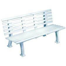 Tourna Courtside Bench 5-Foot White