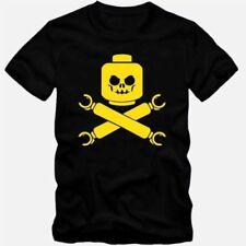 Herren-T-Shirts mit Motiv und Totenkopf in Plusgröße