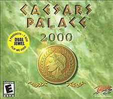 "Caesars Palace 2000/Caesars Palace Dual Jewel (PC, 2001) 2 Products in 1 box ""E"""