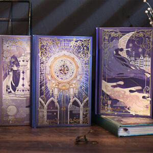 """""""Magic Castle"""" 1pc Diary Journal Freenote Beautiful Notebook Notepad Hard Cover"""