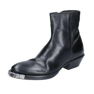 Women's shoes MOMA 6 (EU 36) ankle boots black leather BJ660-36