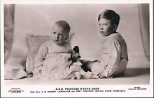 BEAGLES RP POSTCARD HRH PRINCESS MARY'S SONS C1928