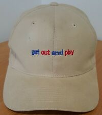 Sports Authority Get Out and Play Baseball Promotional Cap Baseball Hat