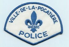 Ville-de-la-Pocatiere Police, Quebec, Canada HTF Vintage Uniform/Shoulder Patch