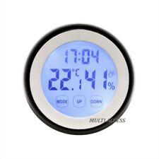 Thermomètre Hygromètre Digital LCD Tactile Rétro-éclairage Température/Humidité