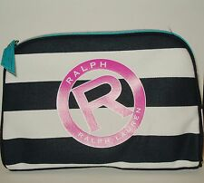 New Ralph Lauren Polo RALPH Cosmetic ~ Travel Case Bag with Logo Canvas New d62ab9914b08f