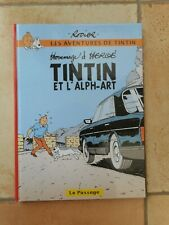 TINTIN et L'ALPH-ART RODIER HERGE PASTICHE