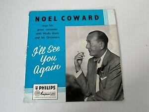 "Noel Coward I'll See You Again 10"" LP BBR 8028"
