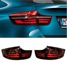Genuine BMW X6 E71 E72 08-14 OEM Black Line LED Tail Light Rear Lamp Full SET