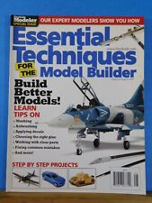 Essential Techniques for the Model Builder 2009 Special Issue FineScale Modeler