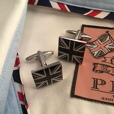 Stainless Steel Square Cufflinks without Stone for Men