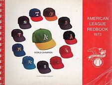 1973 American League Baseball Red Book ~ Fair