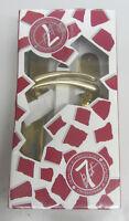 Maniglia x porta placca foro chiave 90 realizzato in ottone lucido cod. 258
