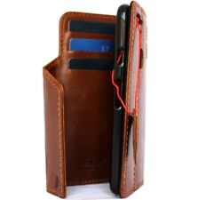 vintage genuine leather case for Google Pixel XL wallet cover book magnetic rfid