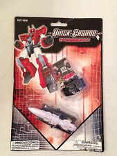 QUICK CHANGE Transforming System Figure 2-pack robot Dune Buggy transformers toy