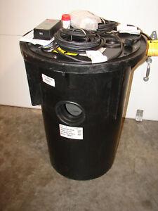 NEW ZOELLER  Sewage Grinder Pump System 1/2 HP, 115V, 19T429