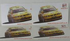 x 4 Seat Ibiza - Rally Stickers