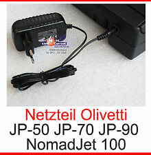 Alimentatore Power Supply Adaptor STAMPANTE OLIVETTI jp-50 jp-70 jp90 jp-90 15 Volt 1a