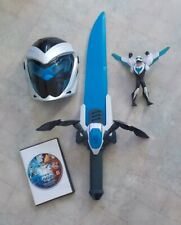 Mattel Max Steel Superhero Costume Play Set Mask Sword Action Figure & DVD