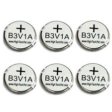 B3V1A  6-Pk Battery for HTP MS-4/MS-5 Collars FACTORY DIRECT From HIGH TECH PET