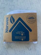Norwex Microfiber Facial Pads Purple Natural Cleaning, Set of 5, New, Makeup Rem