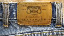 Mens Route 66 Regular Fit denim blue jeans 40 x 32 Style 2257