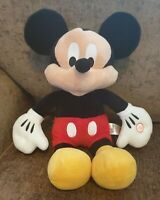 "Disney Mickey Mouse Plush Soft Toy Primark Light Up Cheeks Noise 15"" Walt Disney"