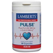 Lamberts Pulse Pure Fish Oil + CoQ10 90 Capsules