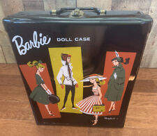 Vintage Barbie, 1961 Mattel Ponytail Barbie Case, Clothes and Accessories