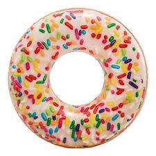 Intex Rainbow Sprinke Donut Tuyau 114cm gonflable Piscine Flotteur