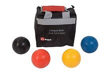 16oz Composite Croquet Balls - Primary Colours