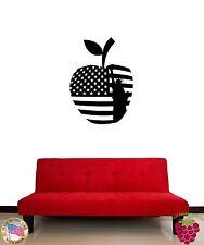 Wall Sticker New York Big Apple USA Flag Statue Of Liberty  z1360