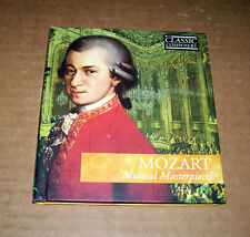 Mozart! Musical Masterpieces! CD & Book! Eleven Compilations! Excellent Cond!