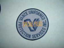 PATCH SECURITY VANCE SPECIAL POLICE PROTECTION SERVICE