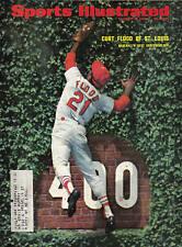 1968 8/19 Sports Illustrated baseball magazine Curt Flood St. Louis Cardinals Gd