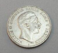 """Silbermünze 5 Mark  DR Münze Silber Wilhelm II von Preussen 1902 """"A"""""""