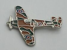 Hurricane RAF Ww2 Aeroplane Quality Enamel Pin Badge