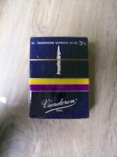 Vandoren Soprano Sax #3 1/2 - Box of 10 Reeds