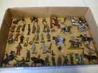 Britains Military Soldier Lot Motorcycle and Horseback