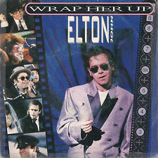 DISCO 45 Giri    Elton John – Wrap Her Up / Restless