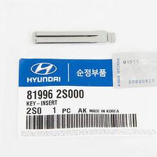 Genuine OEM Hyundai Keyless Key Insert (Without Pin) 81996-2S000