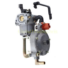 Dual Fuel Carburetor Carb For 170F HONDA GX200 Water Pump Generator Engine