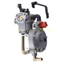Dual Fuel Carburetor Carb For 170F HONDA GX200 Water Pump Generator Engine