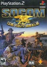 Socom Us Navy Seals PS2 Playstation 2 Game