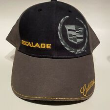 Cadillac Escalade Emblem Black Baseball Cap Dad Hat NWT GM