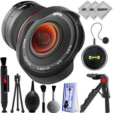Opteka 12mm f/2.8 Ultra Wide Lens for  Canon EOS M3 M5 M6