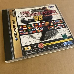 Sega Saturn Import Japon Sega Worldwide Soccer