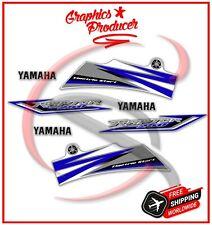 Yamaha Raptor 250 Replica Decals 2009 Model Graphics Stickers White BlueKit